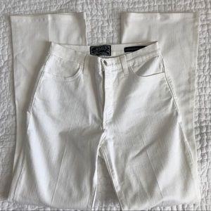 NYDJ White 5 Pocket Flare Jeans High Waist Rise 4